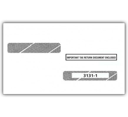 Double Window Envelope Tax Forms W 2