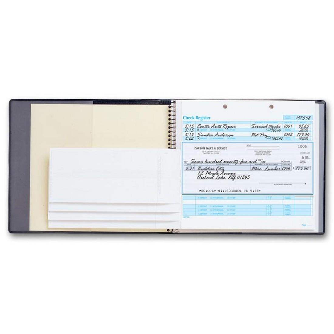 4038n  easy record checkbook 4038n at print ez