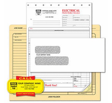 Electrical Contractor Business Forms Starter Kit
