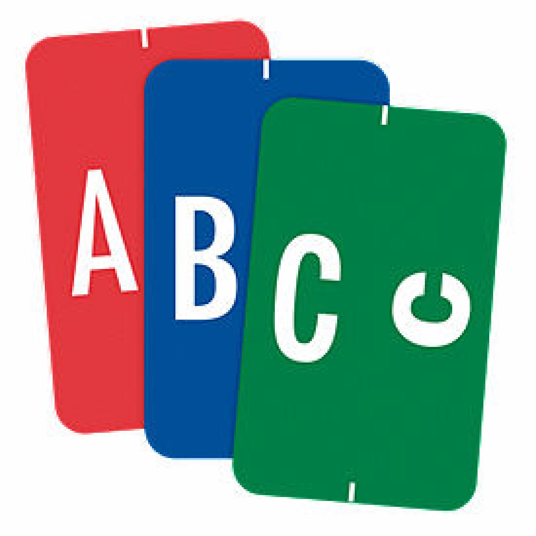 End Tab Compatible Alpha Labels