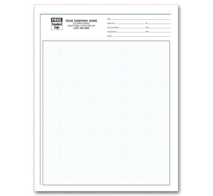 Engineering Graph Pads - 1/8 Inch