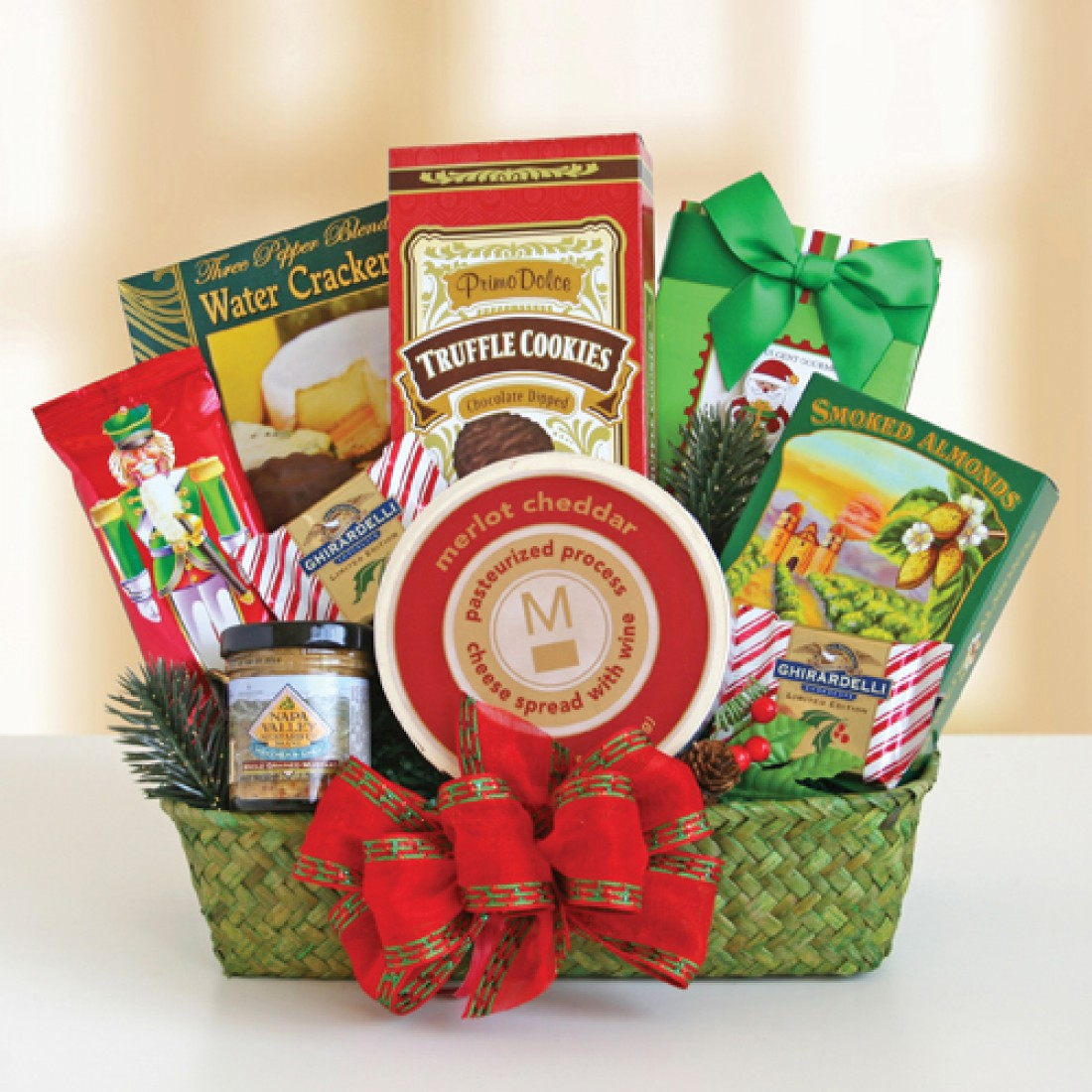 Evergreen Holiday Gift Baskets | Free Shipping