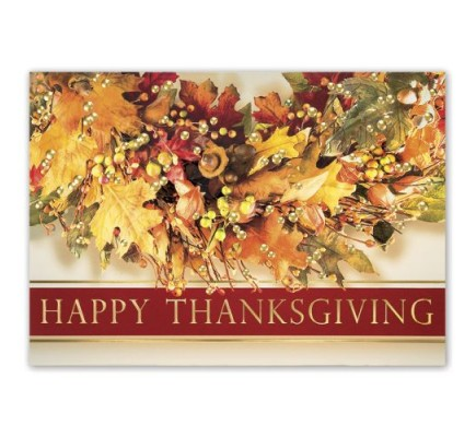 Feeling Thankful Thanksgiving Cards