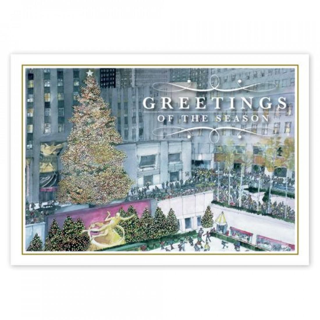 Festive In New York Christmas Cards