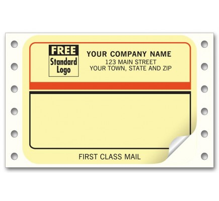First Class Continuous Mailing Labels