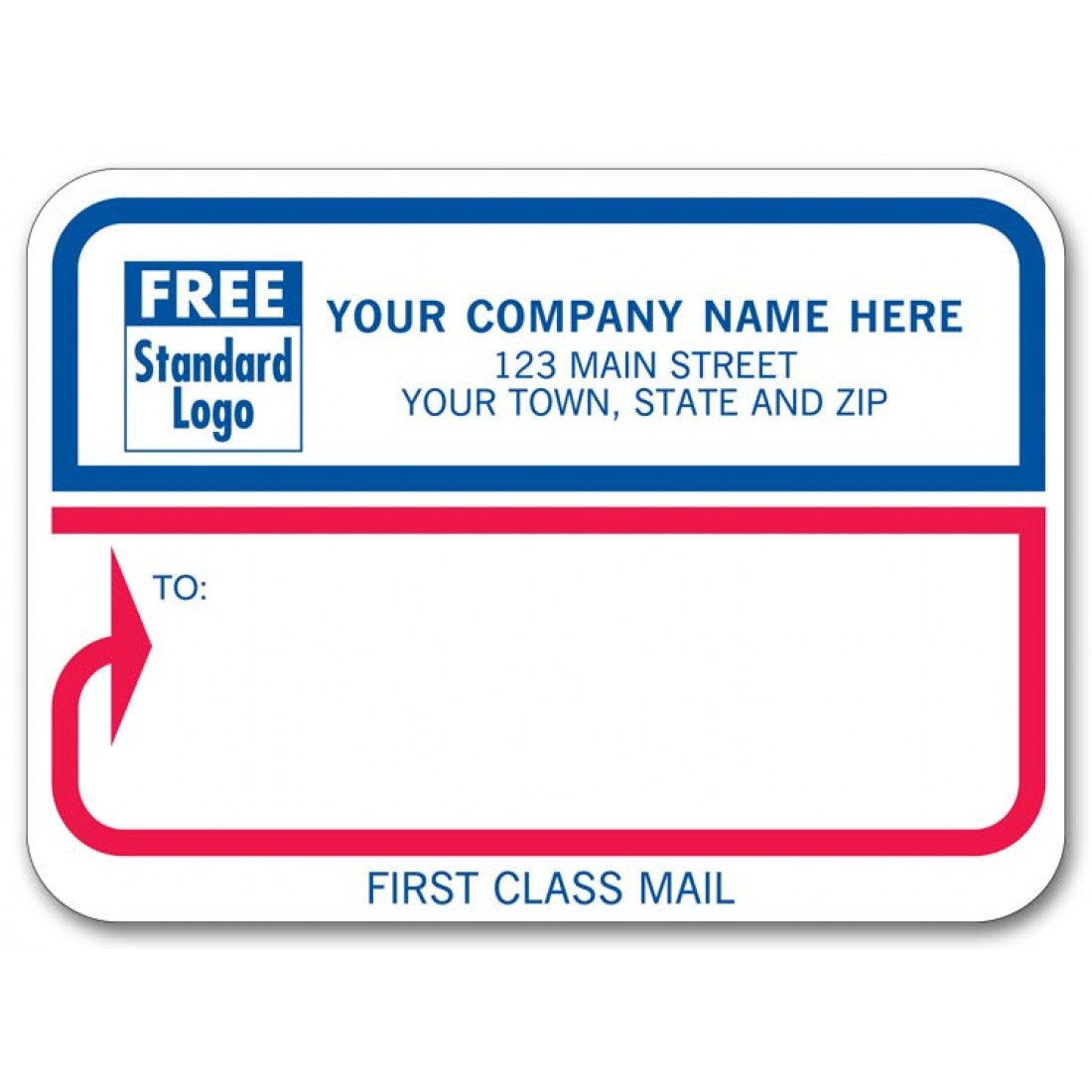 First Class Padded Mailing Labels