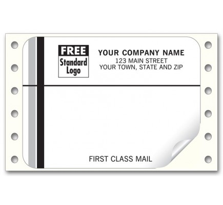 First Class White Mailing Labels