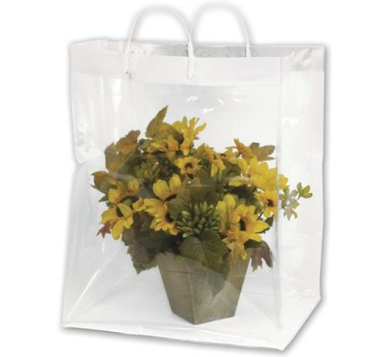 Floral Packagng Bag 13x11x19