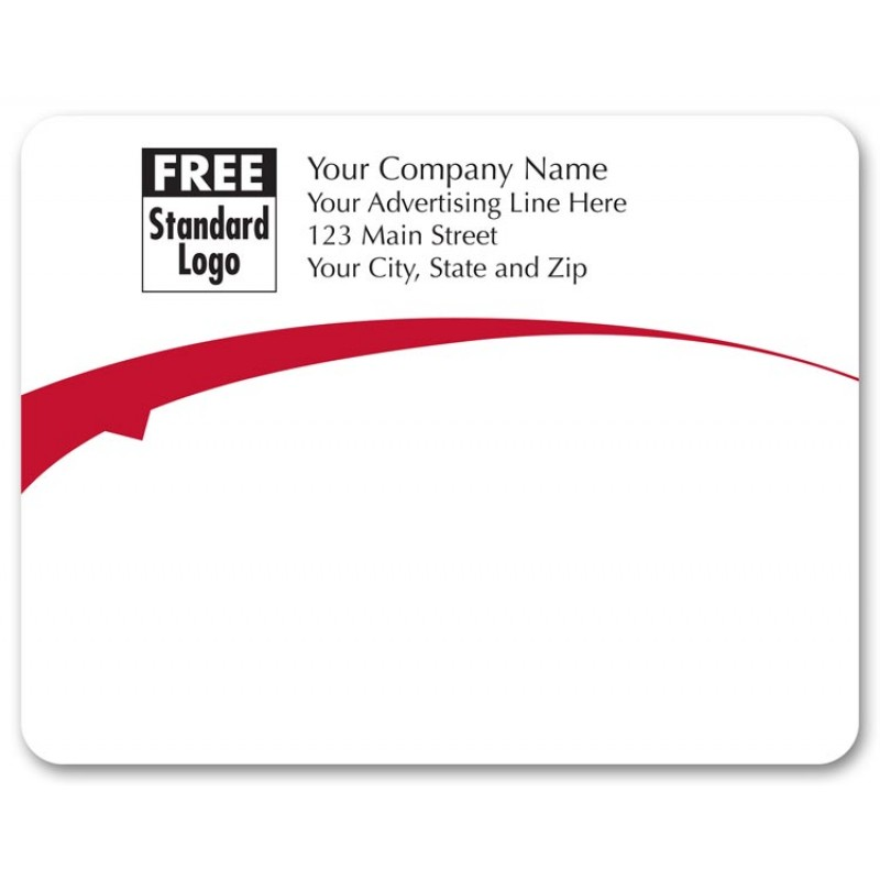 flying arch red mailing label free shipping