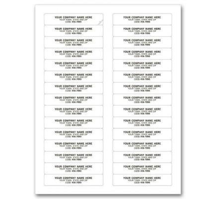 Folder Printing Labels