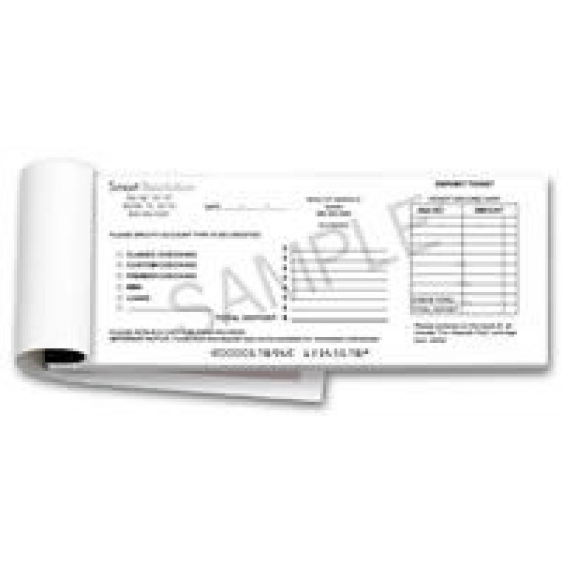Fully Custom Booked or Loose Deposit Slips (Loose Deposit Slips) -   -