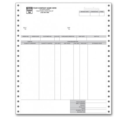 General Continuous Invoice for RealWorld