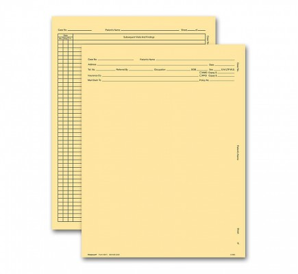 General Exam Record Without Account Record Letter Style