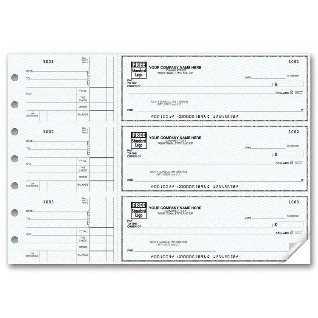 General Manual Business Checks - Business Checks Order