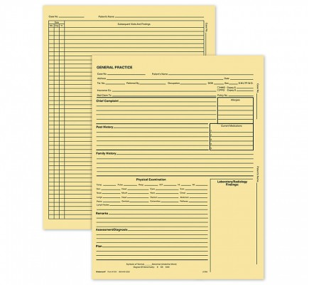 General Practice Form W/O Accts