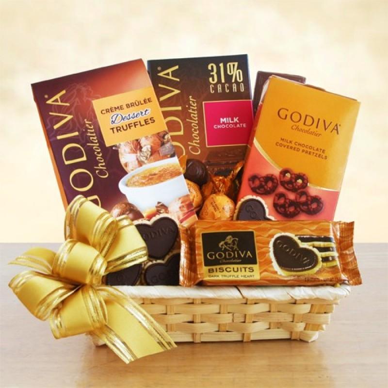 Godiva all occasion gift basket free shipping