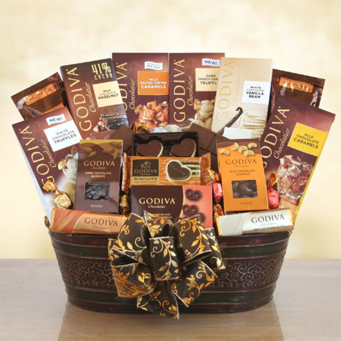 Chocolate Gift Baskets: Godiva Gourmet Chocolate Gift Baskets