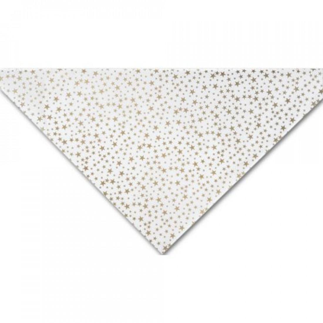 Gold Stars Tissue 20x30