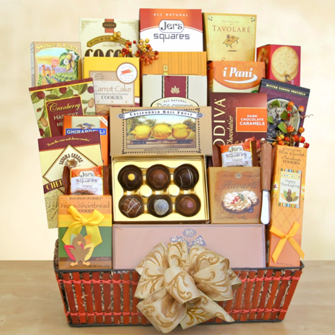 Grand Thanksgiving Holiday Baskets | Free Shipping