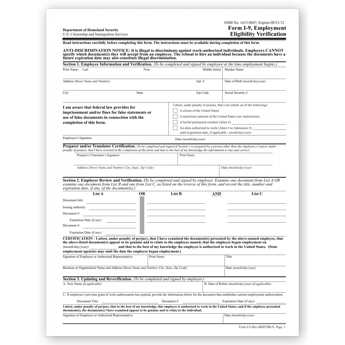 Doc728942 Past Employment Verification Form Doc685951 Past – Previous Employment Verification Letter