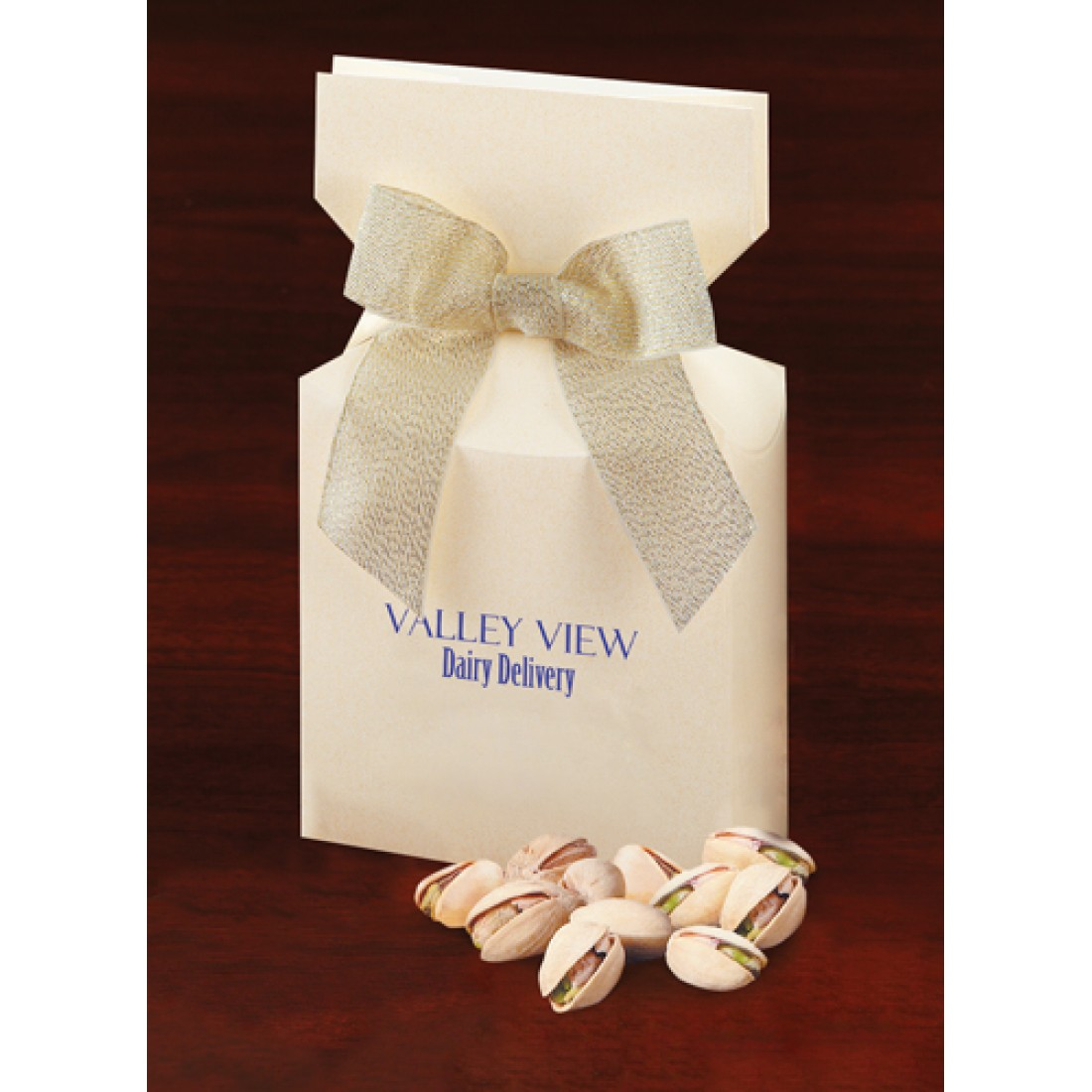 Ivory Preprinted Boxes with California Pistachios