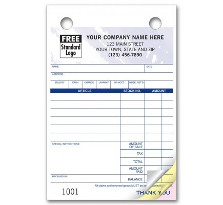 Jewelry Register Forms