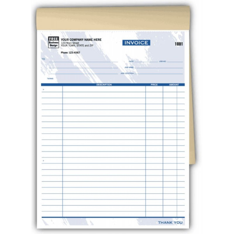 Job Invoice Books (209TB) - Booked Forms  - Business Forms