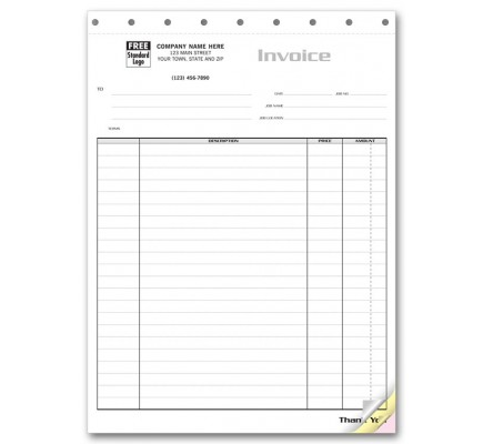 Job Invoice Forms Basic