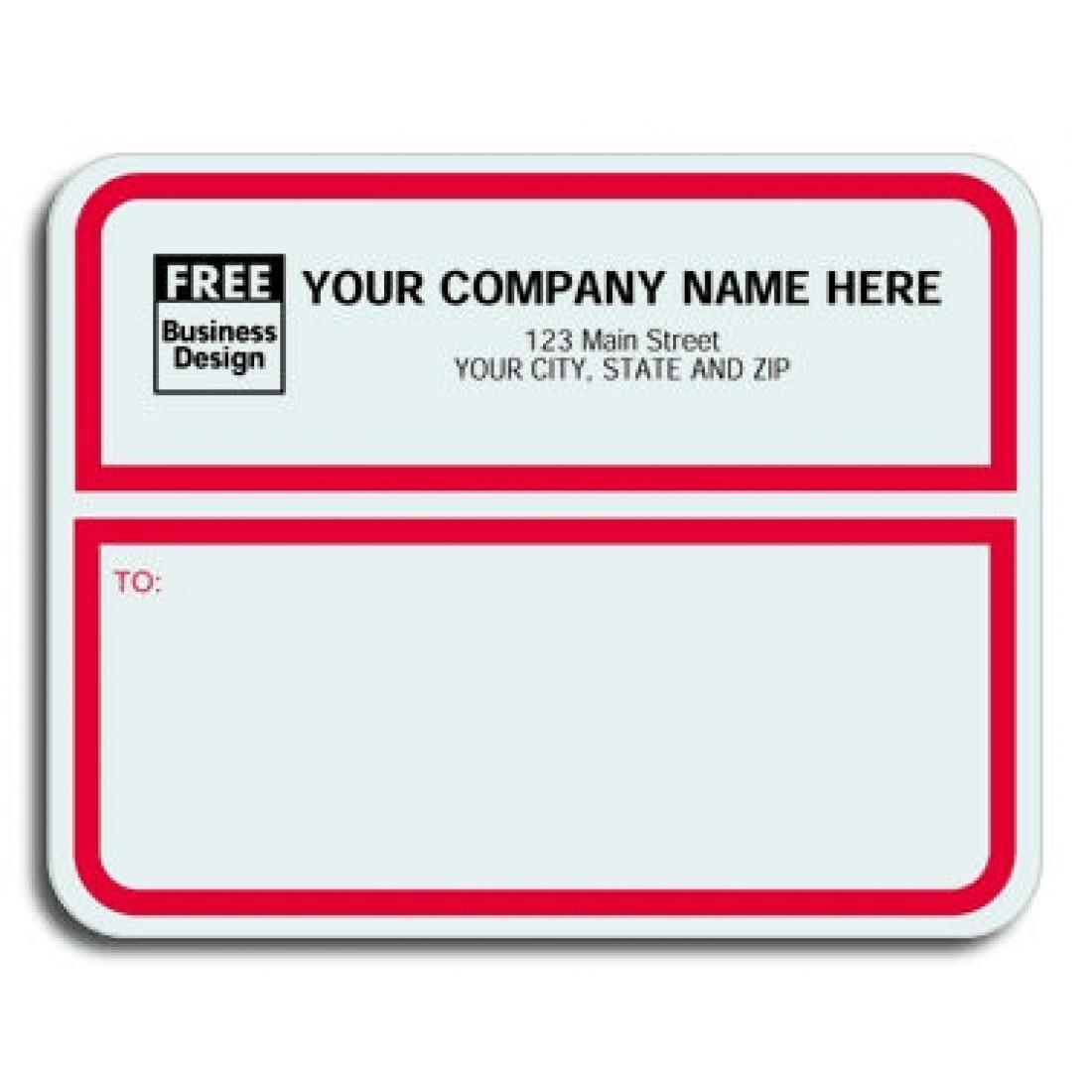 business shipping label - Madran kaptanband co