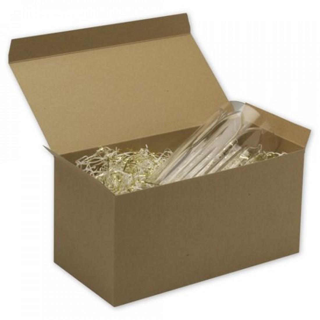 "Kraft 1PC Gift Box 12x6x6"""