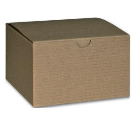 "Kraft 1PC Gift Box 5x5x3"""