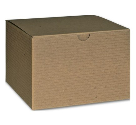 "Kraft 1PC Gift Box 6x6x4"""