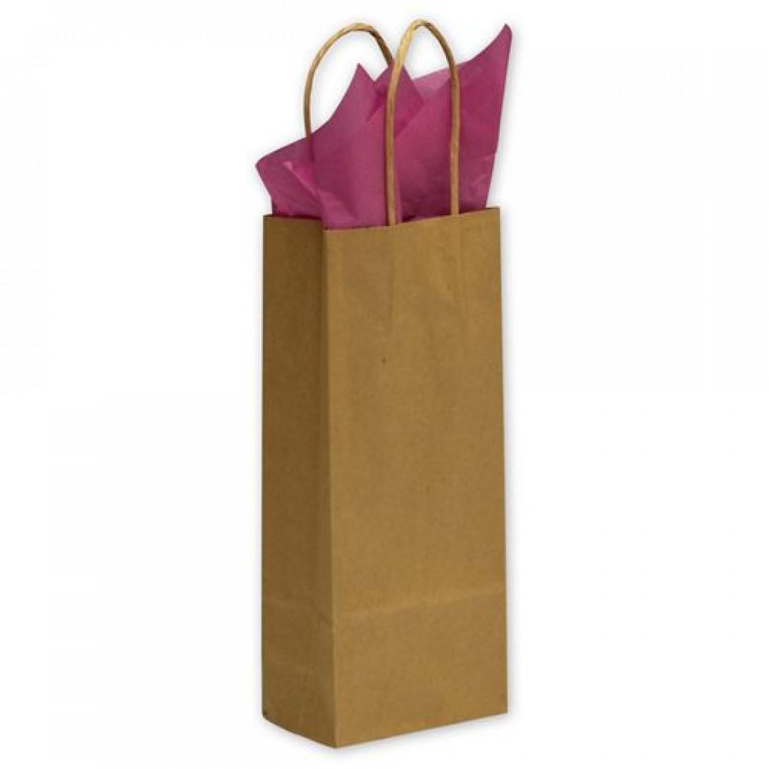Kraft Paper Bag 5.25x3.5x13