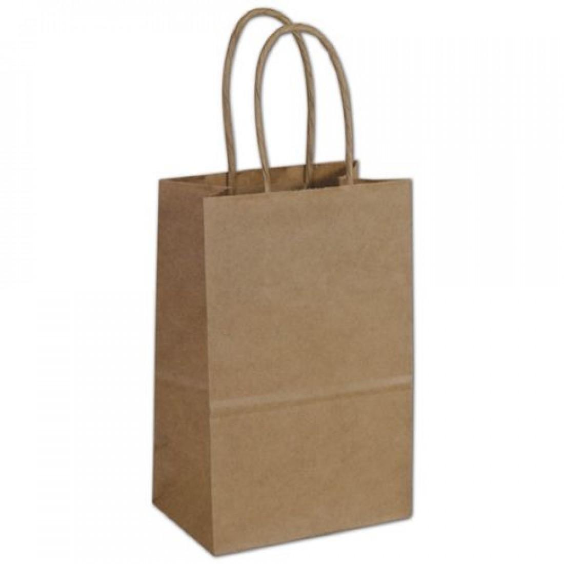 Kraft Papr Bag 5.25x3.5x8.25