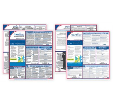 Labor Law Bilingual Federal/State Combo Posters