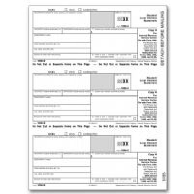 Tax Form 1098 E 1098 E Form Laser 1098 E Tax Forms Federal Copy A ...