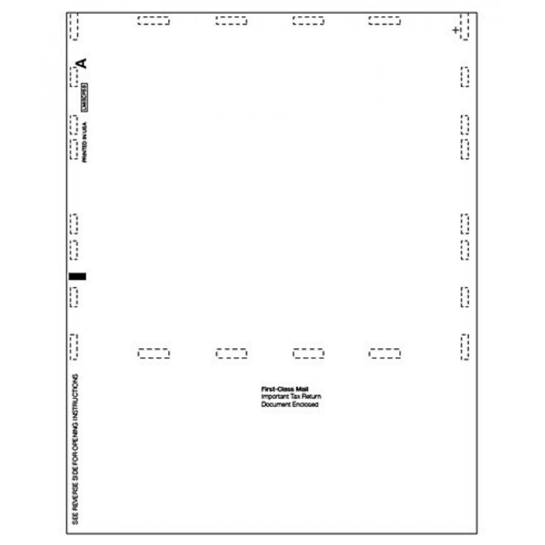 Laser 1099 MISC Income, Blank, Pressure Seal