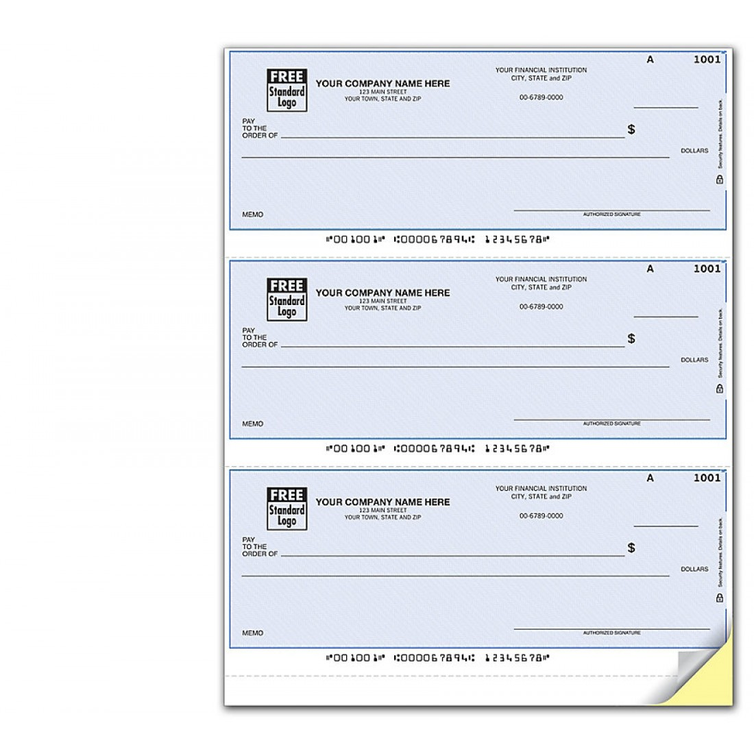 Laser Checks Compatible With NetSuite