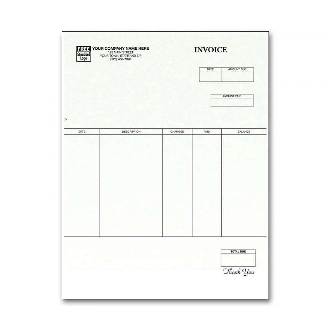 Laser Invoice Parchment