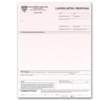 Laser Landscaping Proposal Parchment