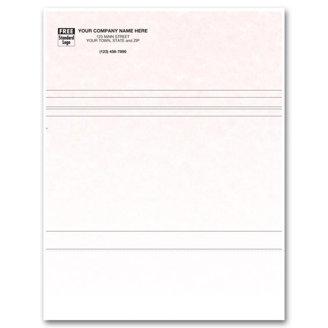 Laser Multipurpose Form - Parchment