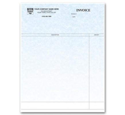 Laser Professional Invoice - Parchment