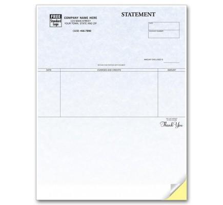 Laser Statement - Parchment