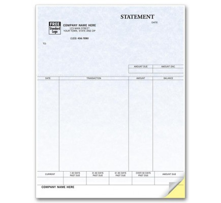 Laser Statement - Parchment compatible with QuickBooks