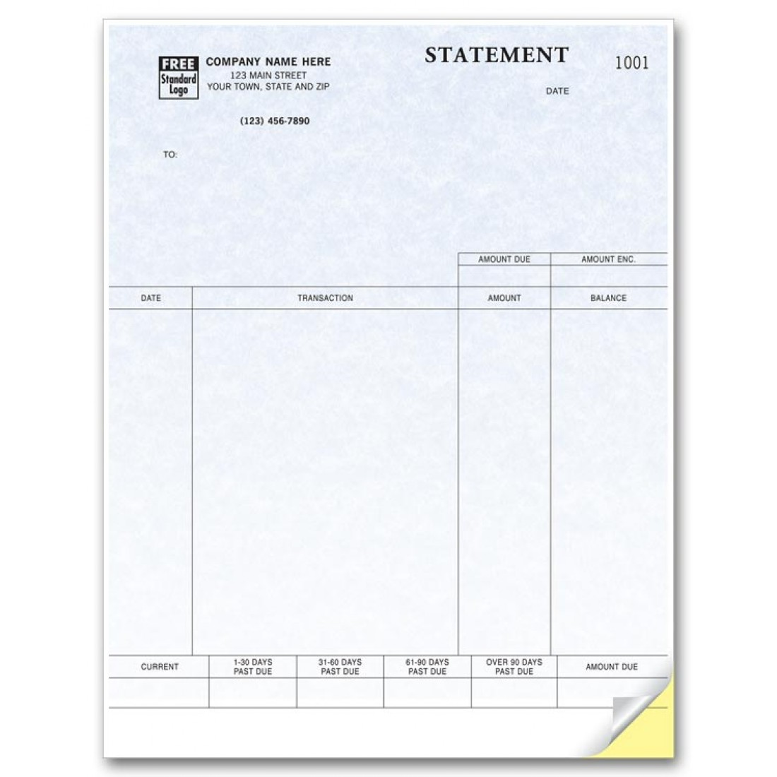 Laser Statement compatible with QuickBooks - Parchment