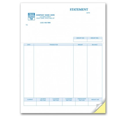 Laser Statement compatible with QuickBooks