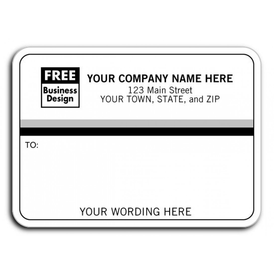 laser inkjet black and grey mailing labels free shipping
