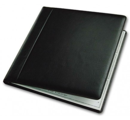 Leather Check Cover (54034N) - Check Binders & Covers  - Business Checks