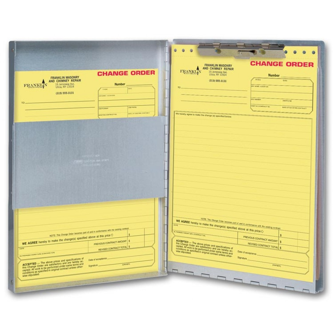 Legal Size Business Forms Holder