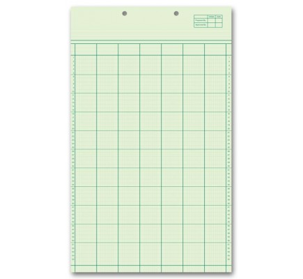 Legal Size Columnar Work Sheets